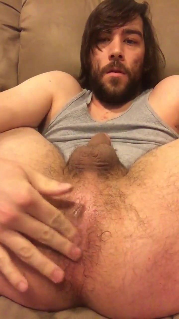 Working over hairy ass mostly hands free cum Chubby assholes lick cock slowly