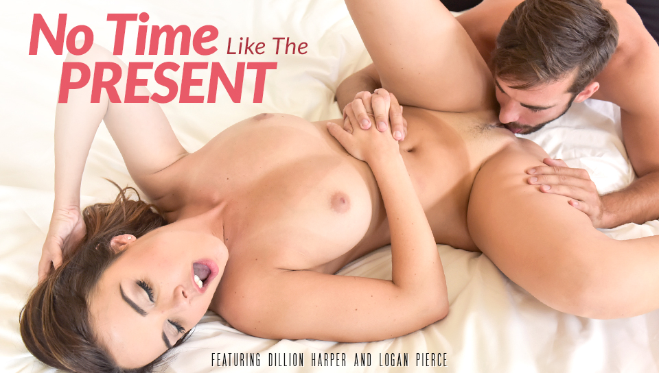 Dillion Harper & Logan Pierce in No Time Like The Present Video iron hill park gay