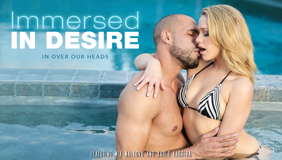 Mia Malkova & Karlo Karrera in Immersed In Desire Video Hot sexy coeds naked