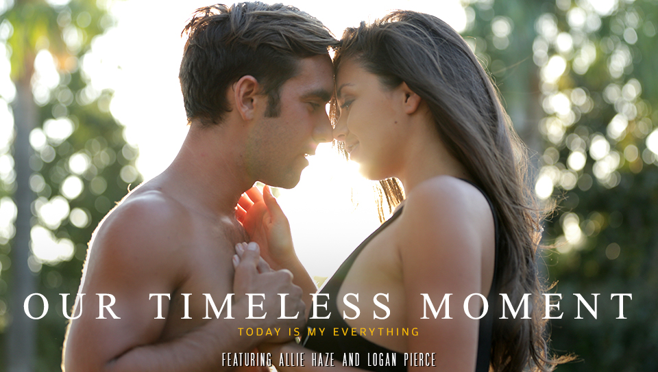 Allie Haze & Logan Pierce in Our Timeless Moment Video