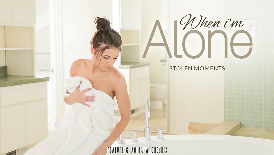 Adriana Chechik in When I am Alone Video nadia comaneci fakes nude