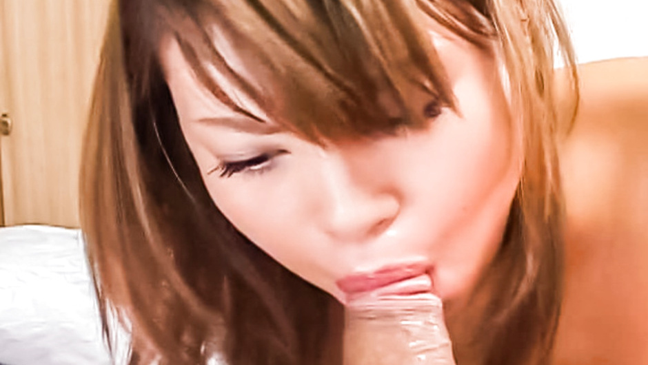 Exotic Japanese model in Horny JAV uncensored Handjobs clip mom teaches son about pussy