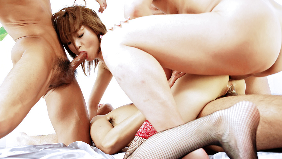 Horny Japanese chick Rika Sakurai in Best JAV uncensored Anal scene Naked girls porn pictures