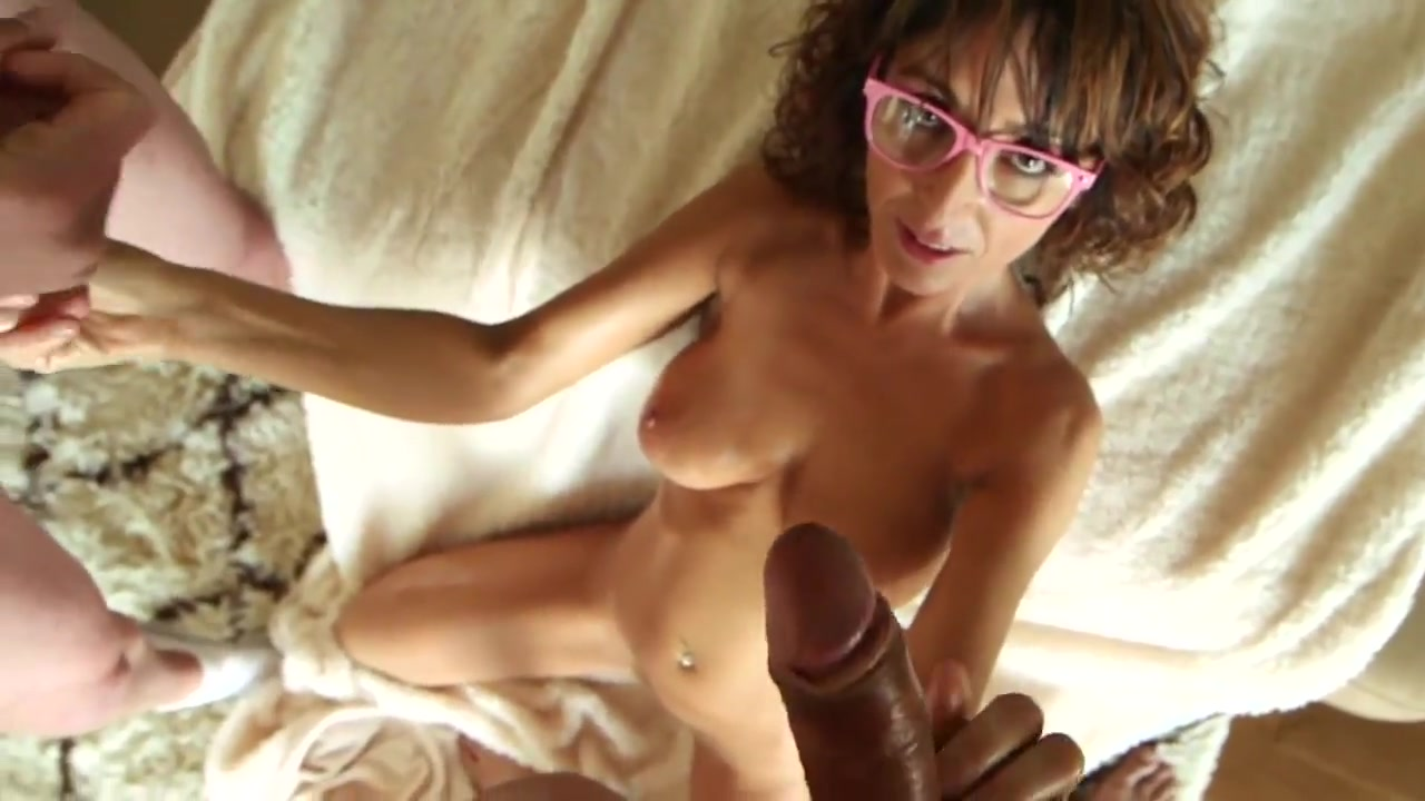 sexy librarian milf (facial comp) Asain shemale fucks her man