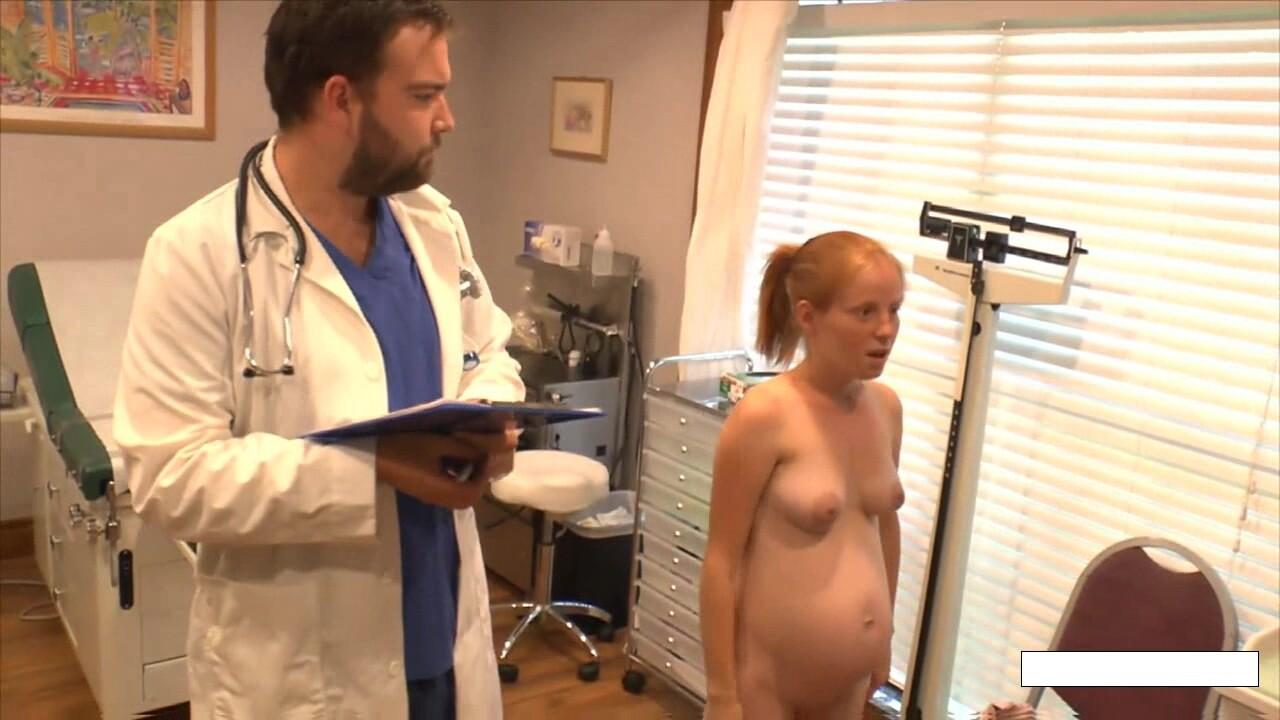 Pregnant Alyssa Hart – Doctor Visit