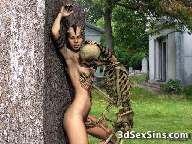 3D Creatures Fuck Women! Black people feet fetish