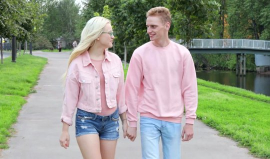Young Russian Blonde Is Not Against Of Having Sex After A Pickup Truck…