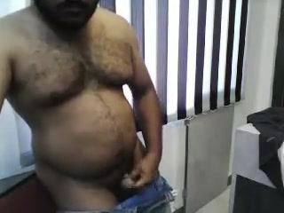 Indian Chennai Hairy Hunk Hot redhead stripping