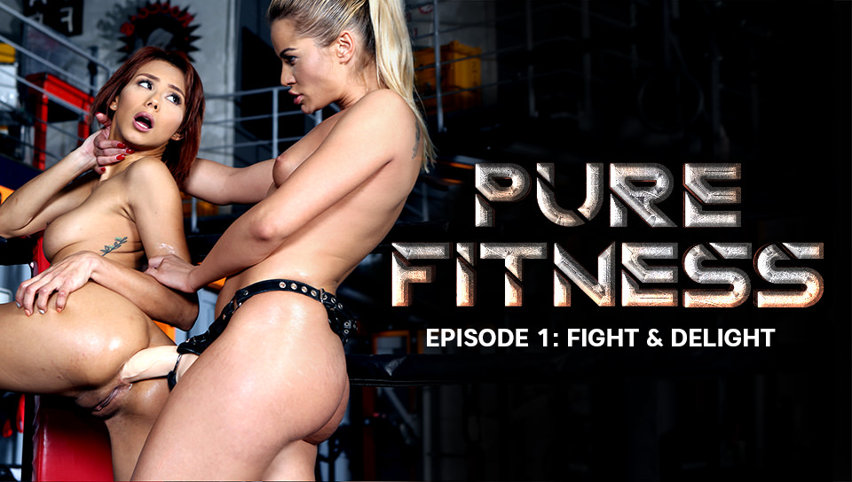 Cherry Kiss & Veronica Leal In Fight & Delight