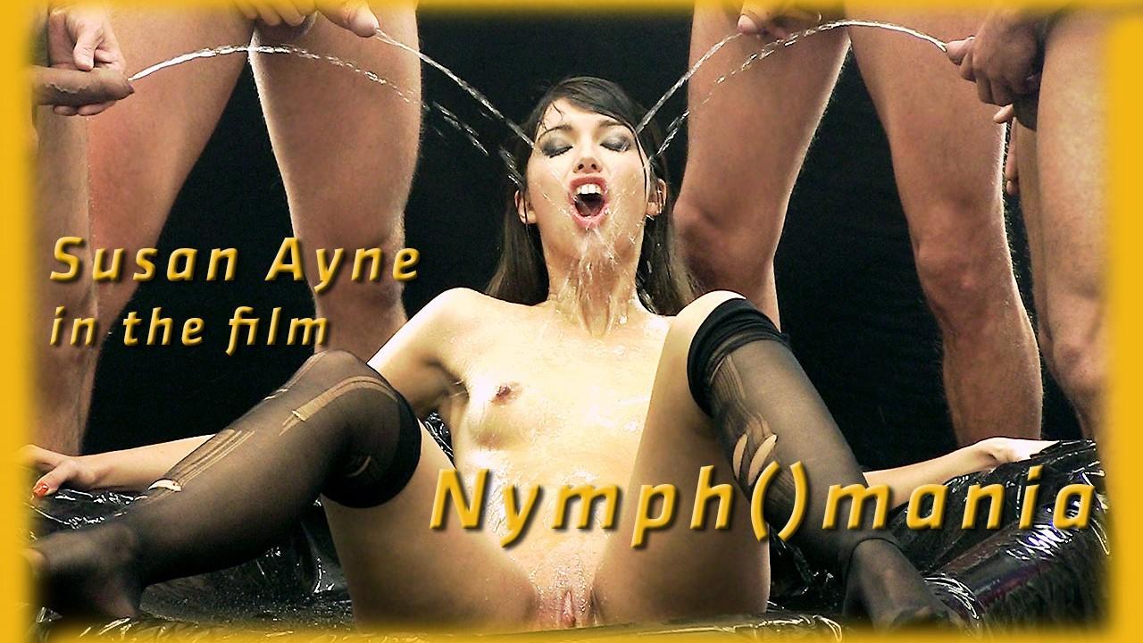 Susan Ayne In HD Pissing Video Nymph()mania At Vipissy