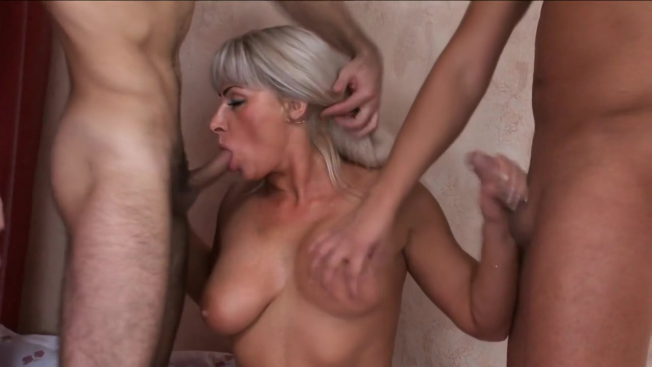 Astonishing Blonde Mature With Big Tits, Jessica Likes To Get Doublefucked Every Once In A While