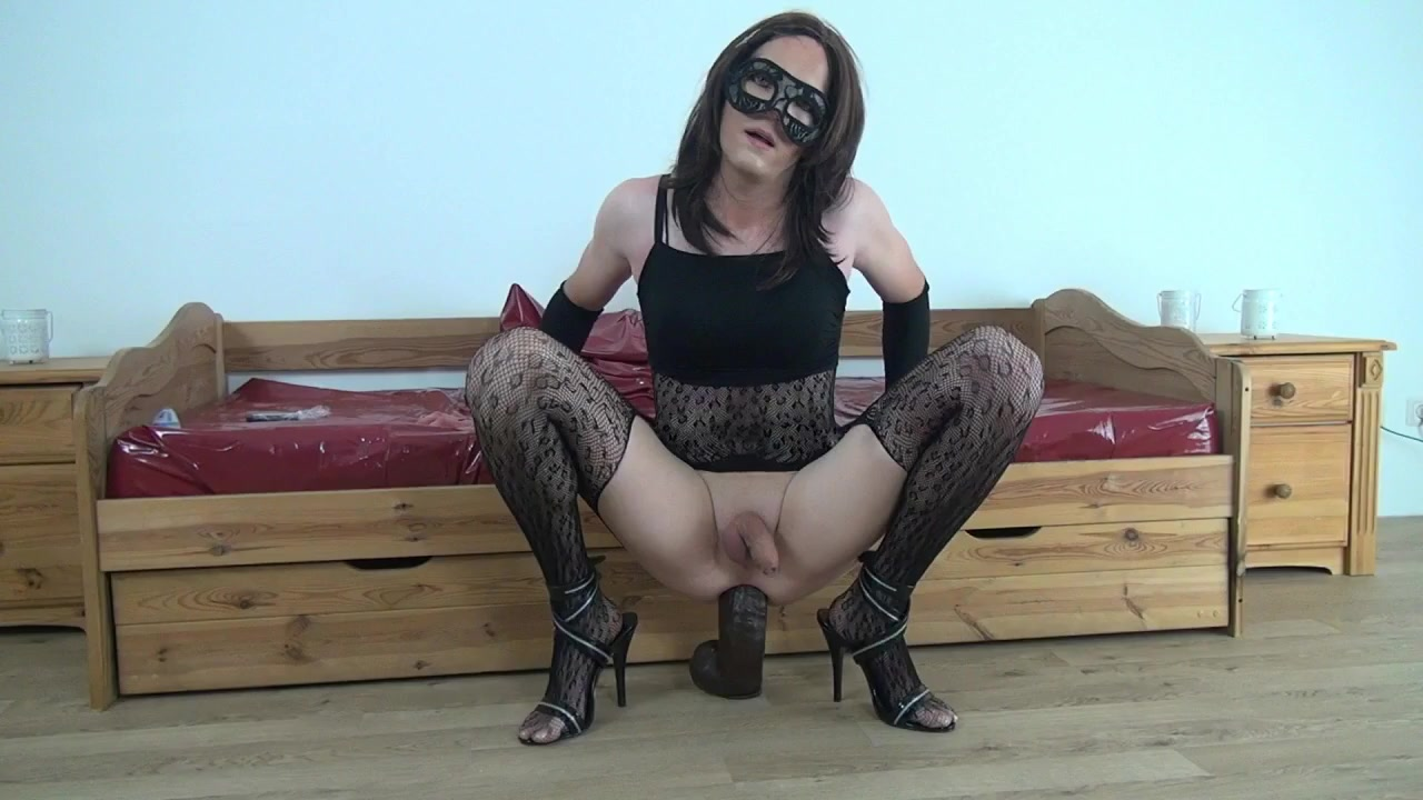 Crossdresser HugeBam Dildo Anal Gape -CD Sissy TG Signs my ex girlfriend still loves me