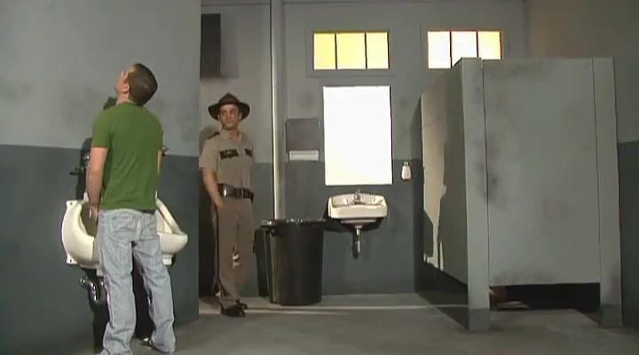 Chad Hunt Endgame Washroom Scene Very old mature sex