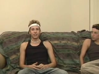 Two gay hot twinks jerking off together Big Black Cock Film