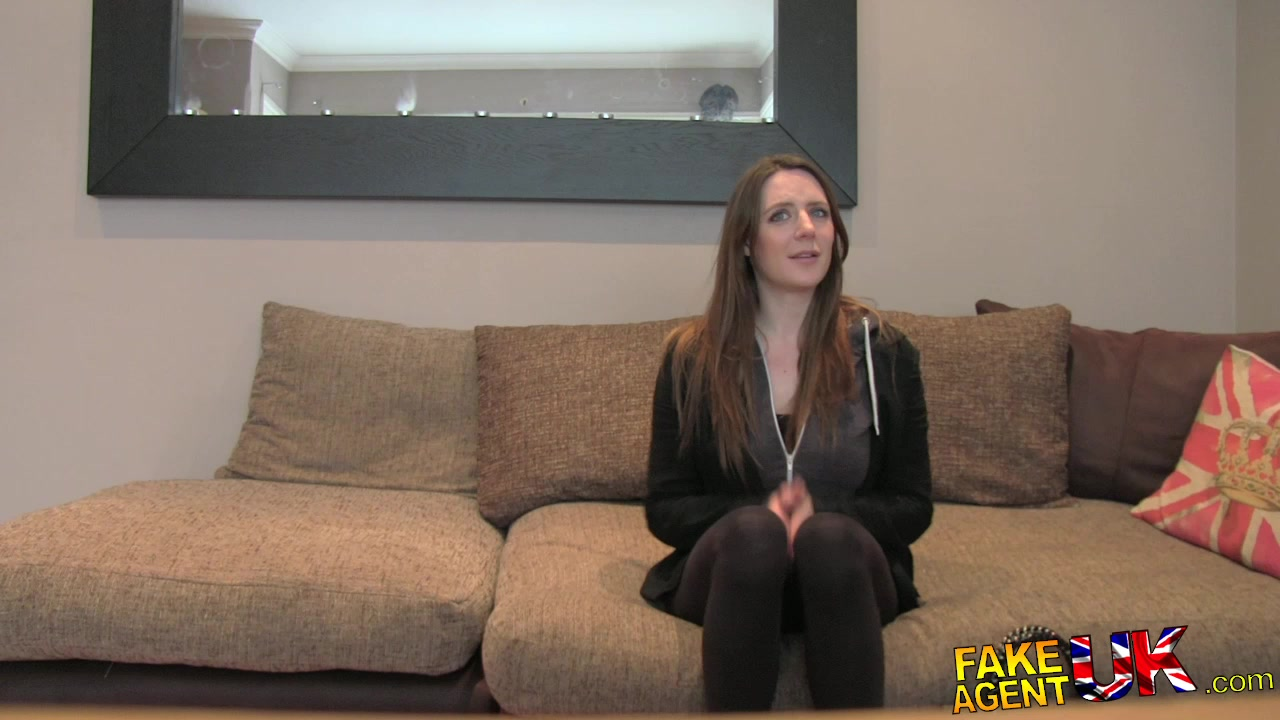 FakeAgentUK: Posh young British girl gets anal creampie casting Honey slut pale ale