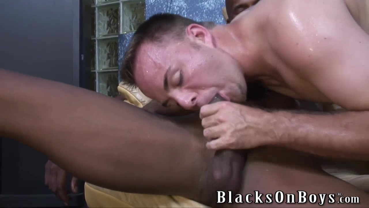 Black men sharing the ass of a white guy Interracial curious white wife