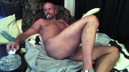 Hunk daddy with his toy Hung latino gangbangs
