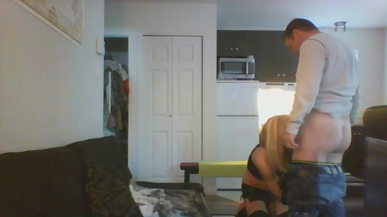 Skinny CD getting fuck like a real woman Bigtitted cfnm milfs dominating with blowjobs
