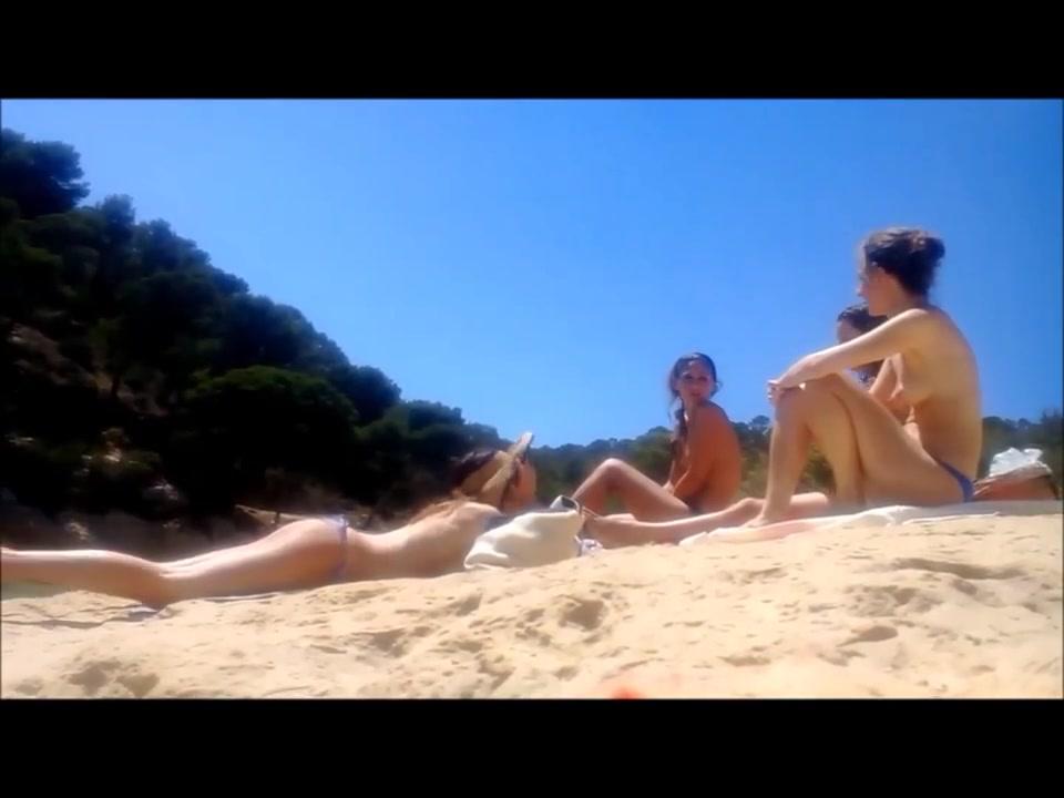 four topless college girl at the beach German milf aus berlin hart gefickt