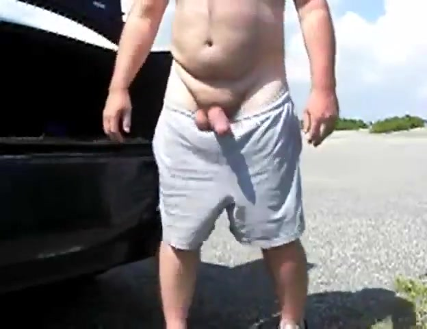 Exhibition fat cock on the beach Fingering loud orgasm