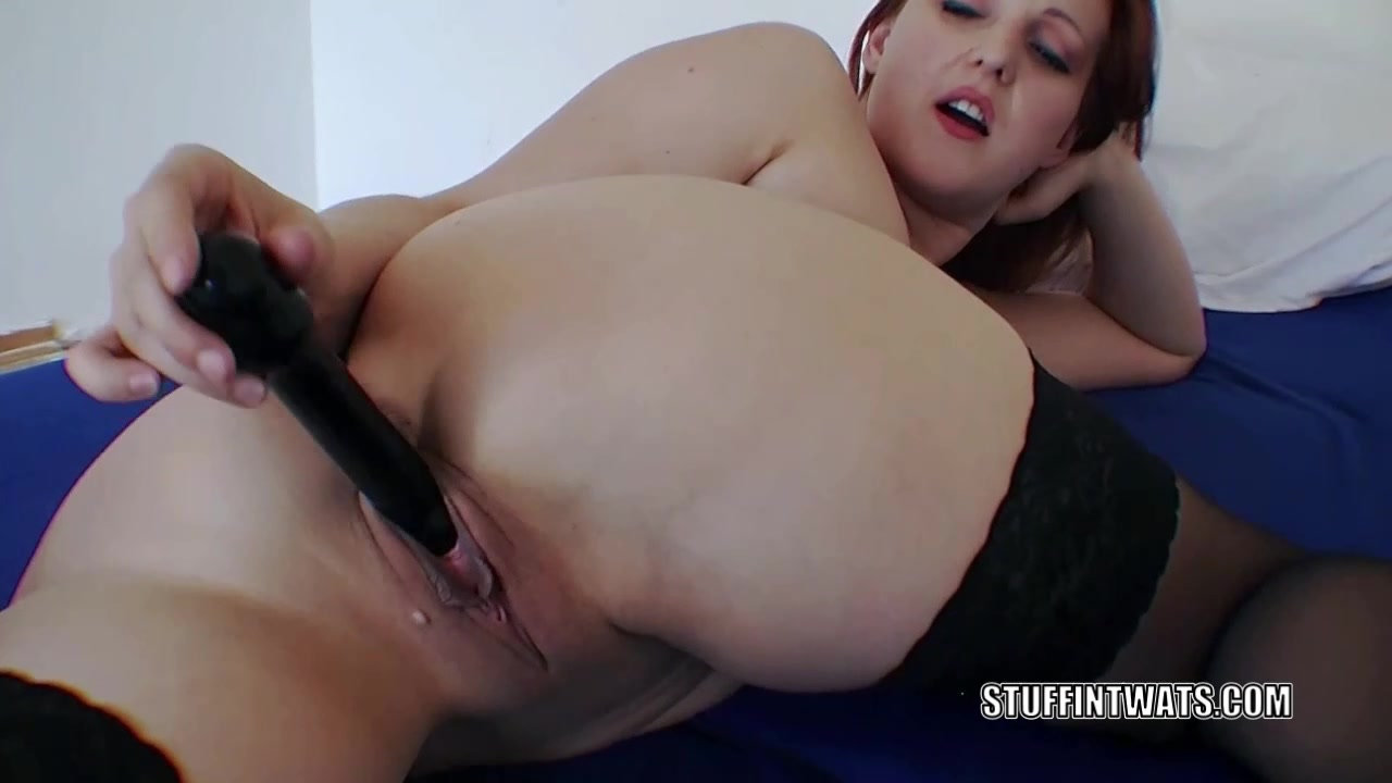 Czech housewife Sanna is fucking her hot twat with a toy Crazy milf fuck