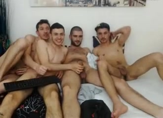4 Romanian Bi Boys Jerking Each Other Cock Have Fun Jennifer anniston the break up nude scene