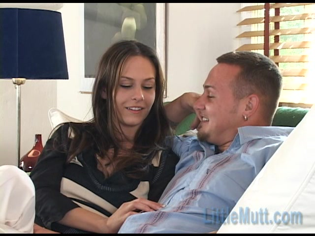 Little Mutt Video: Mia and John Thomas Confessions Suck on my big ten inch