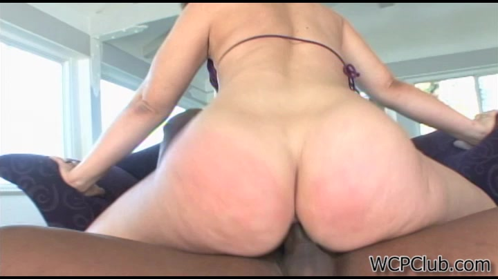 CockRiding Babe. WCPClub Videos: Leenah Rae satin and lace lingerie
