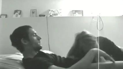 Chubby blonde brings bar dude home for sex girl in knee high socks fucked