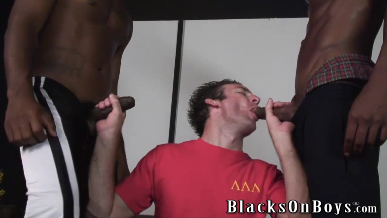Lusty white guy returns for more black cocks vey young gay boys