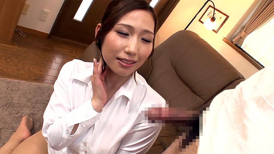 Horny Japanese chick Ai Sayama in Exotic JAV censored Blowjob, Big Tits scene Teens fucking son sex