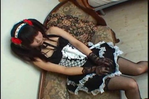 Cosplay Porn: Japanese Maid Cosplay Sex Cosmate 11 Ruri Houshou part 2 sams hot phone sex