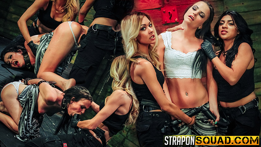 Brooklyn Daniels is Up for Slave Training with Mila Blaze & Lexy Villa - StrapOnSquad Prigione archives hentai ita fumetti porno giochi