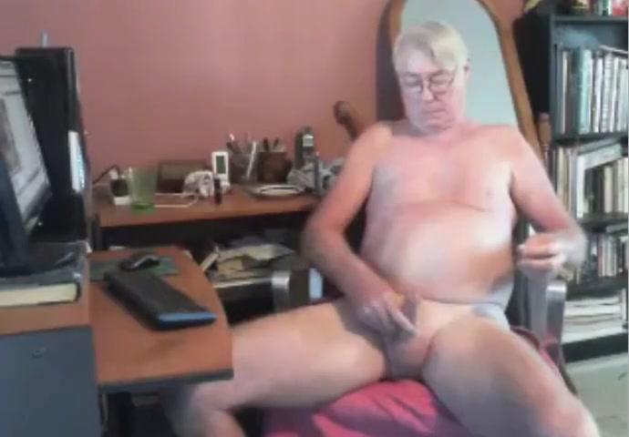 grandpa strok on cam (no cum) Topless big tits gif