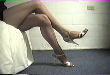 Stiletto Heels and Pantyhose Leg Teaser free nude ashley tisdale