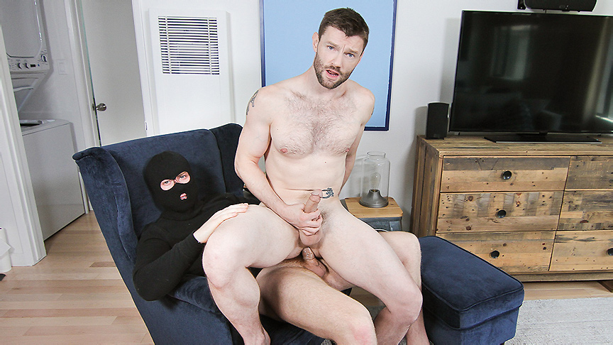 Connor Maguire & Dennis West in Ass Bandit Part 4 - DrillMyHole Nude black oiled boobs