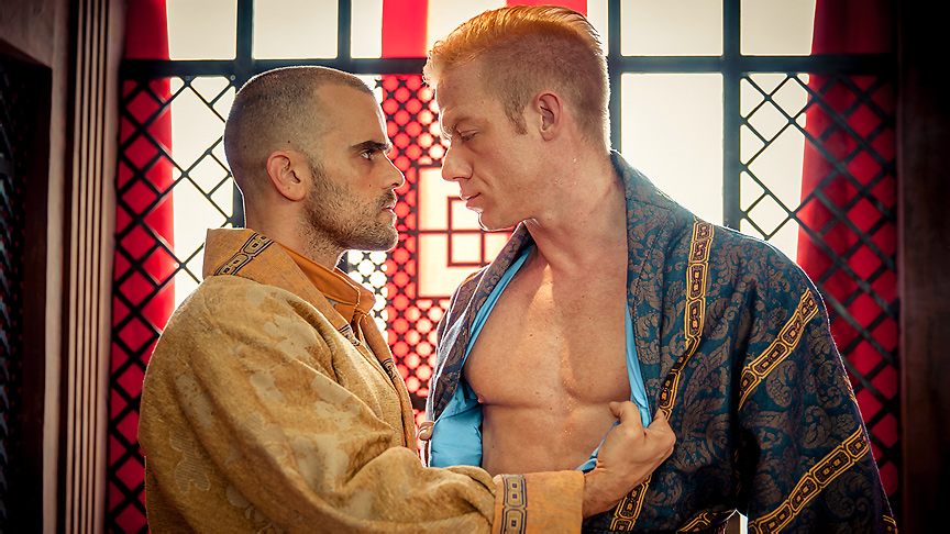Christopher Daniels & Damien Crosse in Gay Of Thrones Part 3 - DrillMyHole college sex xxx india