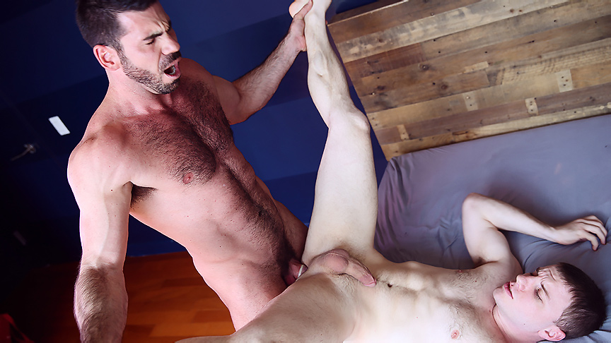 Billy Santoro & Doug Acre in My Moms New Husband Part 4 - DrillMyHole Highheeled les tasting