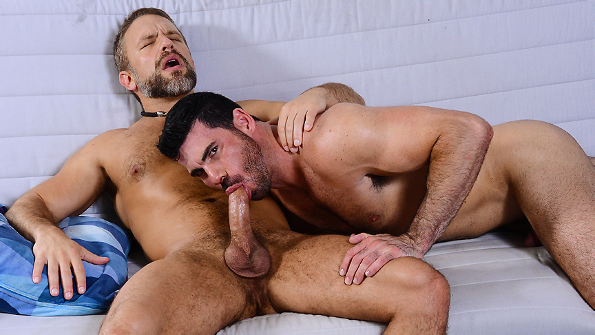 Billy Santoro & Dirk Caber in Neighbors Part 1 - DrillMyHole Pornstar dallas dixon