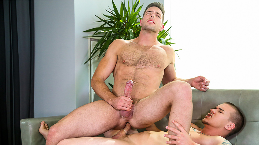Adam Bryant & Alex Mecum in The Next Men Exclusive Part 3 - DrillMyHole Best big black cock videos