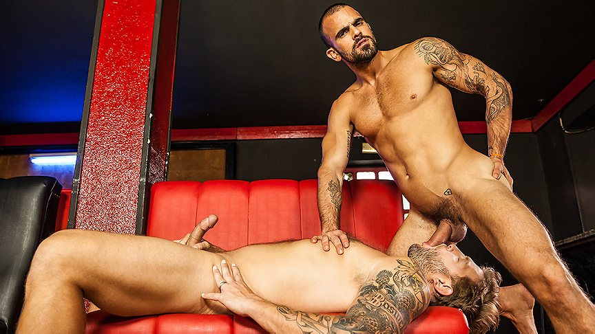Colby Jansen & Damien Crosse in My Brother The Hooker Part 1 - Str8ToGay Logic snapchat
