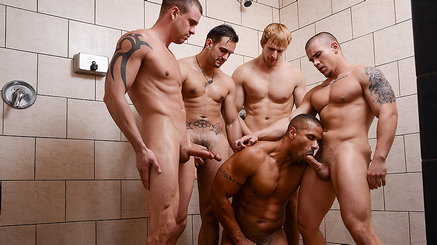 Adam Bryant, Cameron Foster, Darin Silvers, Phenix Saint, Robert Axel in Football DL Part 3 - JizzOrgy non nude young ass