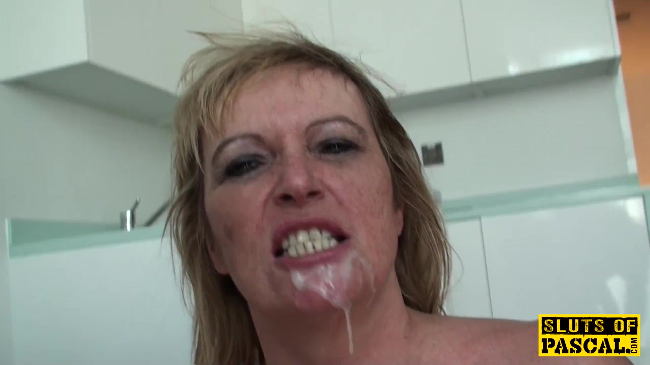 Humiliated uk granny submits to maledom