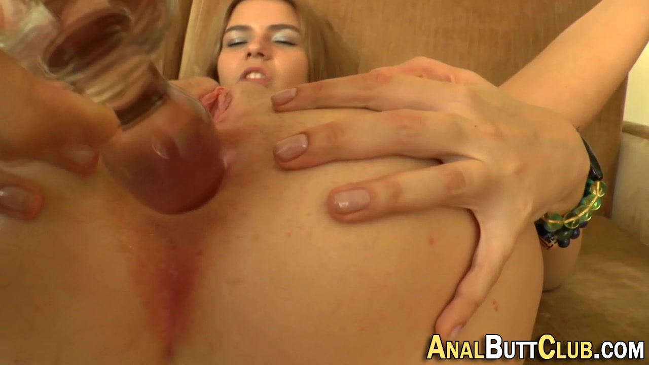 Ass toyed til it gapes Ivy autumn studio1