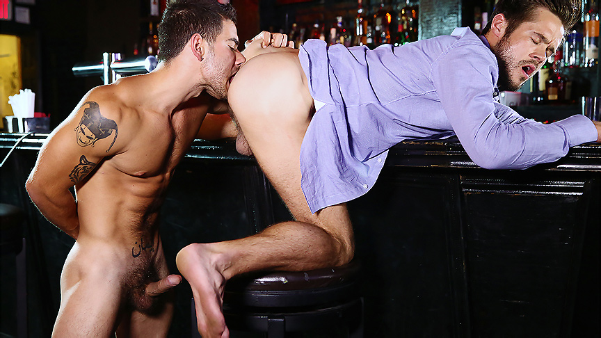 Mike De Marko & Vadim Black in Reply All Part 1 - TheGayOffice couple swapping tgp vids