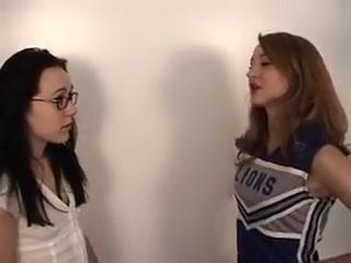 Cheerleader Bondage blowjob oral sex porno