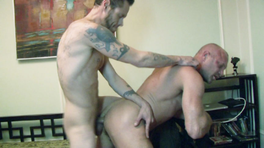 Chad Brock & Damon Dogg in Fuckd Stoopid Scene 3 - Bromo Hot naked racing babes