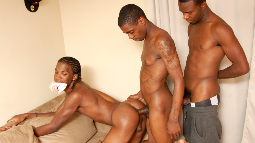 Johnny Boy & Sexxy Antwon & Trapp Boy in Thugporn Hazing #2 Scene 5 - Bromo hardcore rough humiliation sex tubes