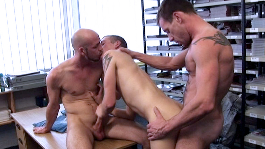 Anthony Thomas & Korben David & Lee Jaguar in Hung Uncut Filth Edition Scene 1 - Bromo Big tits big ass lingerie