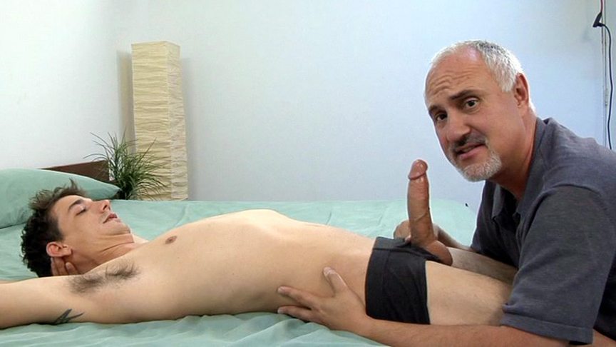 Aden Graham in Cruise Collection #76: First Class Service scene 2 - Bromo Guided humiliating masturbation
